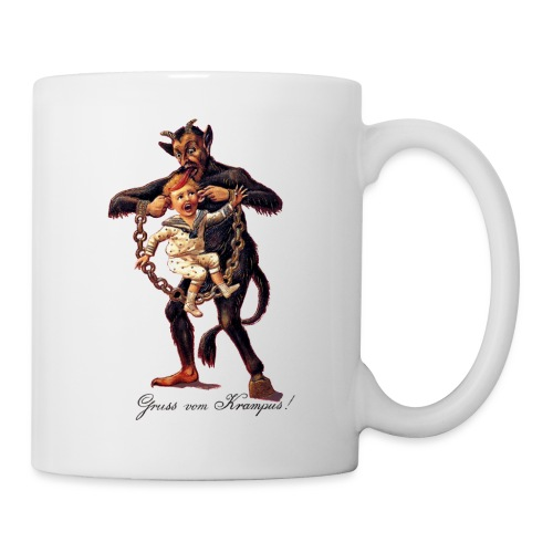 Gruss vom (Greetings From) Krampus - Coffee/Tea Mug