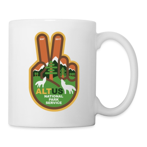 ALT US National Park Service - Peace - Coffee/Tea Mug