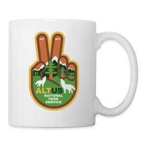 ALT US National Park Service - Peace - Coffee/Tea Mug