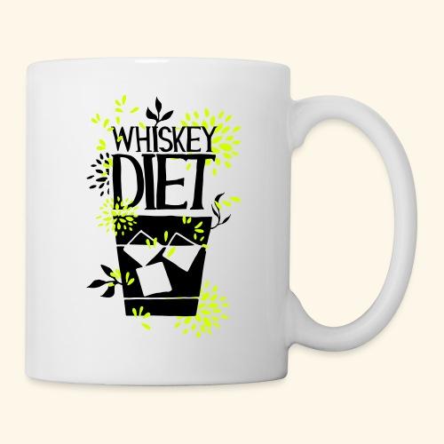 WHISKEY DIET T-SHIRT MEN / WOMEN - Coffee/Tea Mug