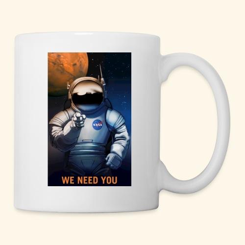 P08 We Need You NASA Recruitment Poster 600x - Coffee/Tea Mug