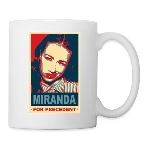 Miranda Sings Miranda For Precedent - Coffee/Tea Mug