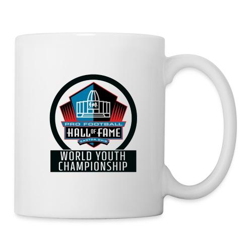 PFHOF World Youth Champ White Outline - Coffee/Tea Mug