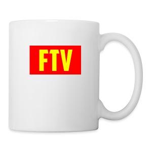 Red and Yellow Mugs and MousePads - Coffee/Tea Mug