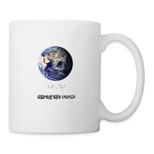 Shrug the World - Coffee/Tea Mug