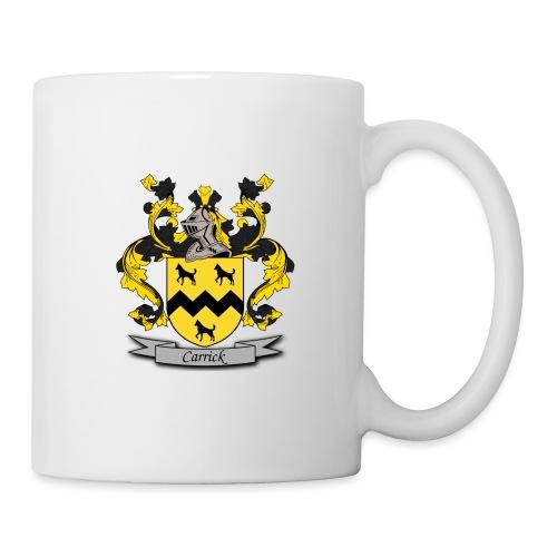 Carrick Family Crest - Coffee/Tea Mug