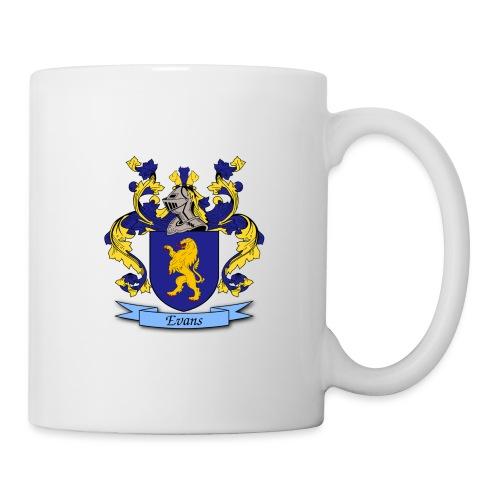 Evans Family Crest - Coffee/Tea Mug