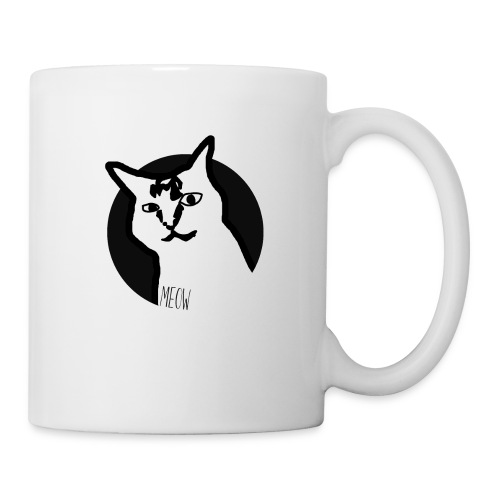 CAT MEOW - Coffee/Tea Mug