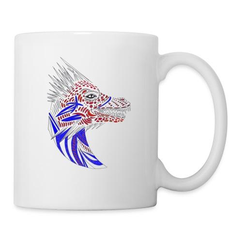 Blue dragon head - Coffee/Tea Mug