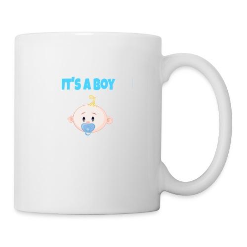 It-s_a_boy_tshirt - Coffee/Tea Mug
