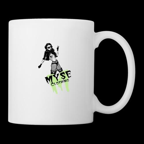 MYSE Clothing - badass babe - Coffee/Tea Mug