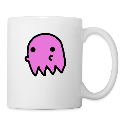 Pink Ghost - Coffee/Tea Mug