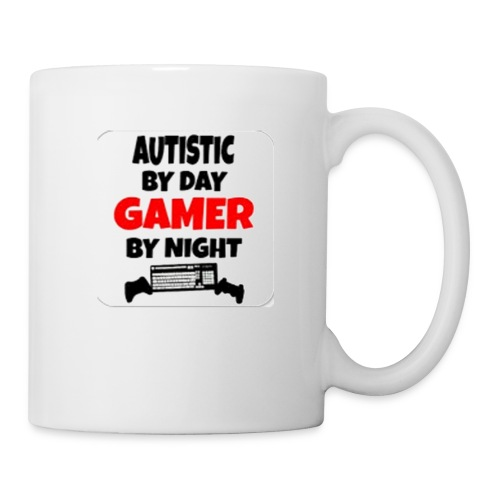 Autistic By Day Gamer By night - Coffee/Tea Mug