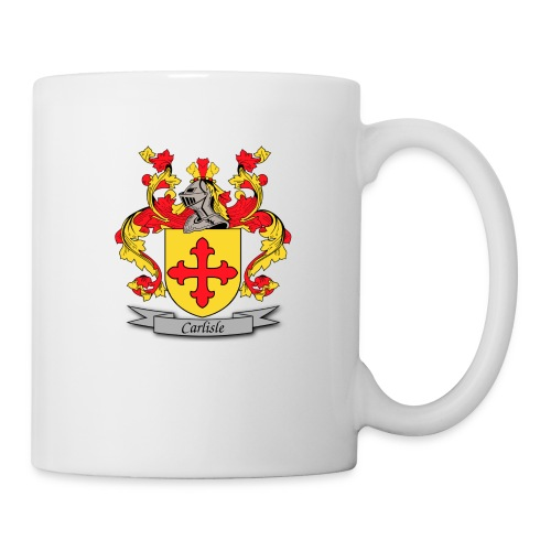 Carlisle Family Crest - Coffee/Tea Mug