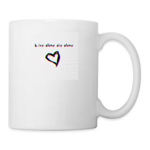 Lil Manny Live Alone Die Alone - Coffee/Tea Mug