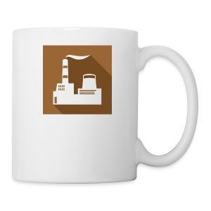 flat factory vector - Coffee/Tea Mug