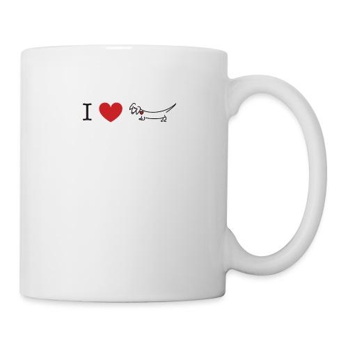 I love Dachshund - Coffee/Tea Mug