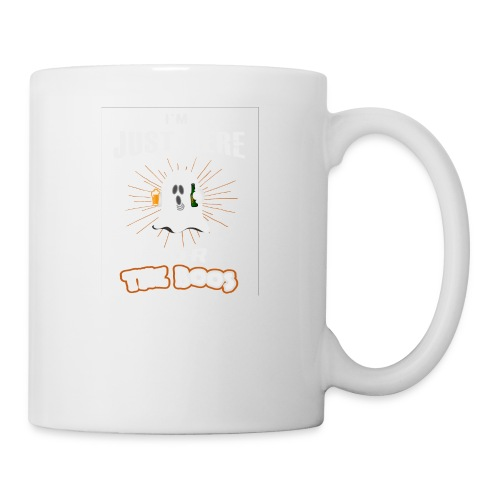 I'm Just Here For The Boos Halloween Beer Gift - Coffee/Tea Mug
