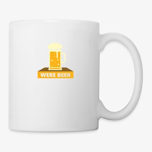 wish you were beer - Coffee/Tea Mug