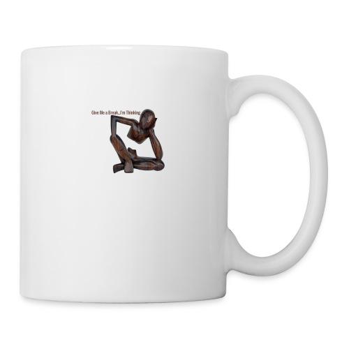 The Thinker Funny - Coffee/Tea Mug
