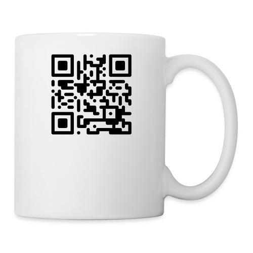 QR Codes are Dumb - Black - Coffee/Tea Mug