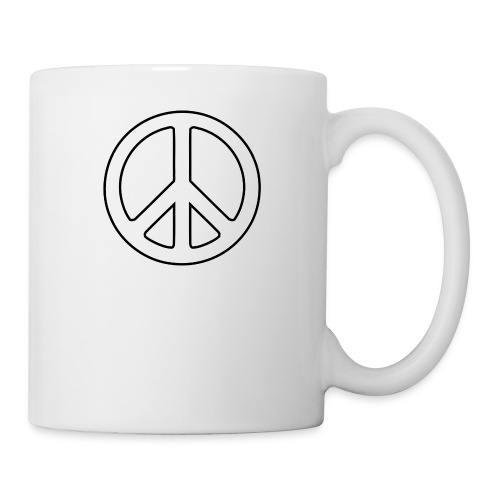Peace Symbol PNG Image - Coffee/Tea Mug