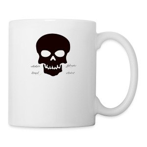 Skull Protector - Coffee/Tea Mug