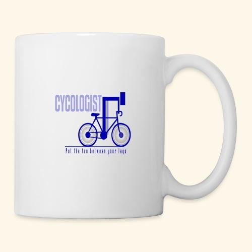 Cycologist T Shirt for Men, Women, Kids, Babies - Coffee/Tea Mug