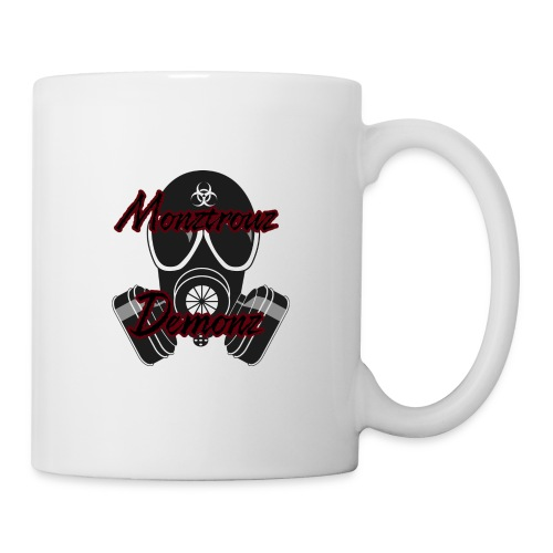 new monztrouz demonz logo - Coffee/Tea Mug