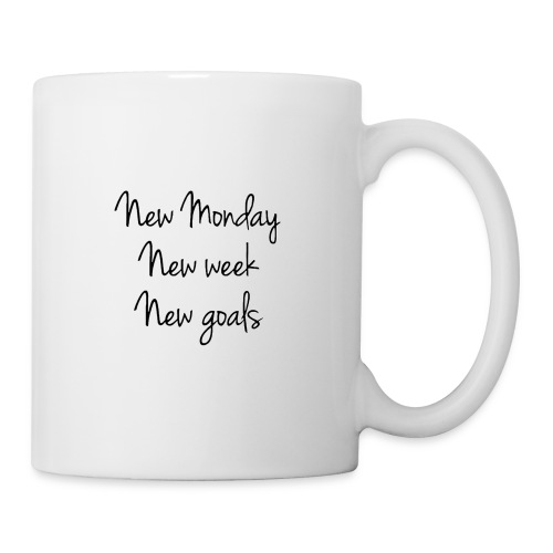 Monday Goals - Coffee/Tea Mug