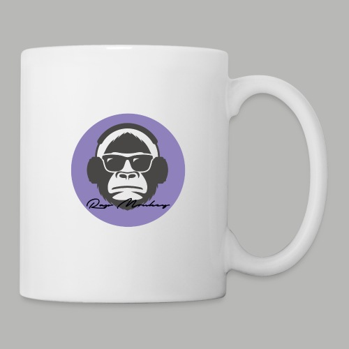 Rap monkey(Ape) Men's Premium T-Shirt - Coffee/Tea Mug