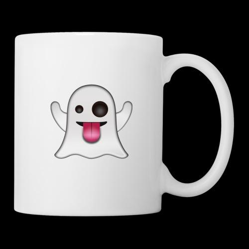 Ghost Emote - Coffee/Tea Mug