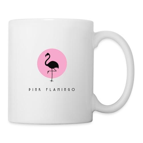 Pink Flamingo Logo Black - Coffee/Tea Mug