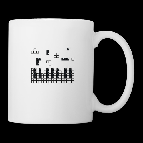 Hit the Brick Piano Keys - Coffee/Tea Mug