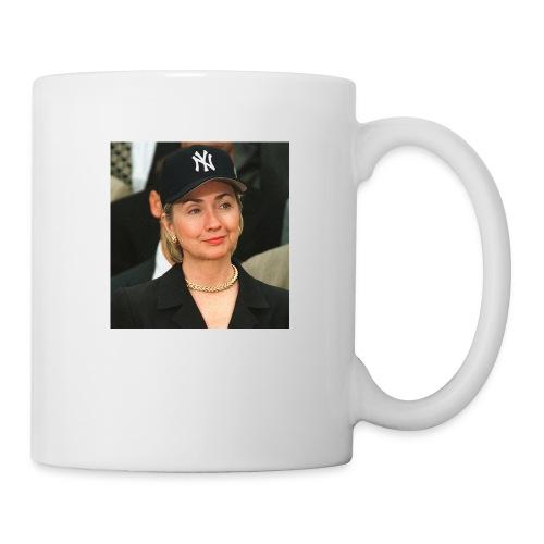 hillary_ny_large - Coffee/Tea Mug