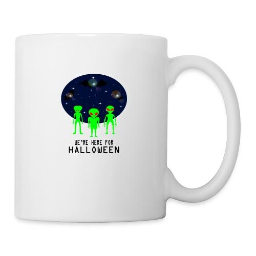 WE'RE HERE FOR HALLOWEEN - Coffee/Tea Mug
