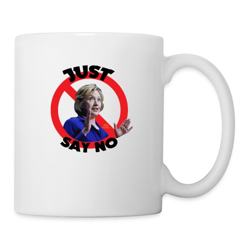 Just_say_no_to_Hilary_small - Coffee/Tea Mug