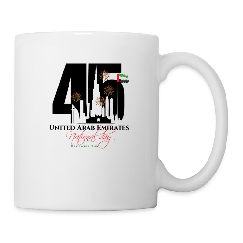 UAE 45 National Union Day - Coffee/Tea Mug