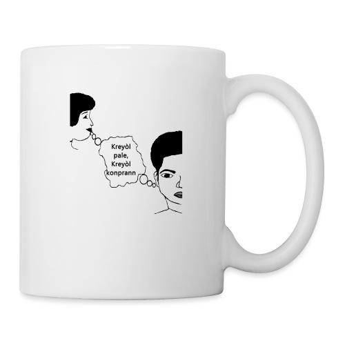 Kreyol_pale_Kreyol_kompran - Coffee/Tea Mug