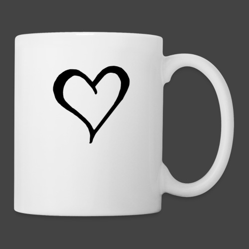Heart Sketch - Coffee/Tea Mug