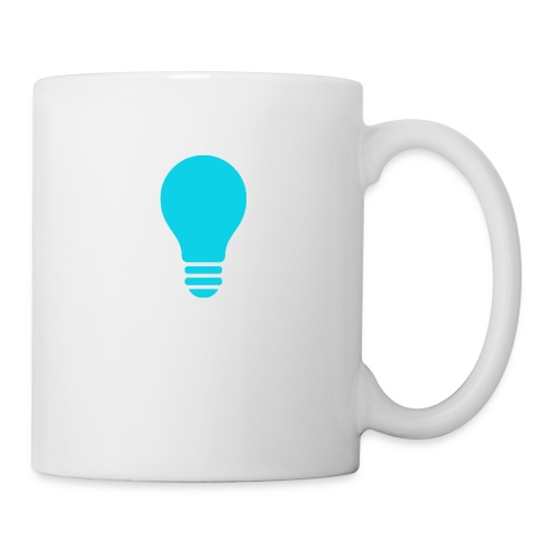 Quitz Blue w/ white text - Coffee/Tea Mug