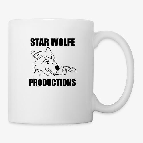 Star Wolfe Productions (Black) - Coffee/Tea Mug