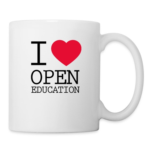 I Love Open Education - Coffee/Tea Mug