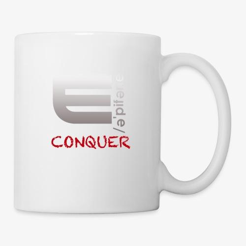 "EPIPHANY LIFESTYLE ""CONQUER"" - Coffee/Tea Mug"