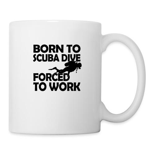 born to scuba dive - Coffee/Tea Mug