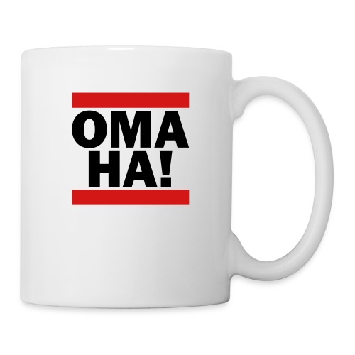 OMAHA Logo Shirt - Coffee/Tea Mug