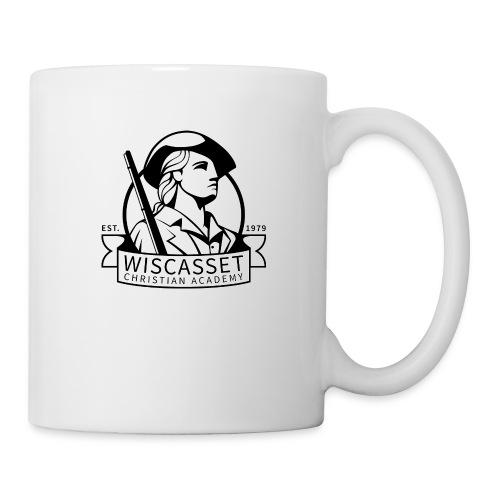 WCA Logo banner black line white fill - Coffee/Tea Mug