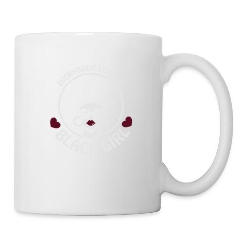 Everybody Loves A Black Girl - Version 3 Reverse - Coffee/Tea Mug
