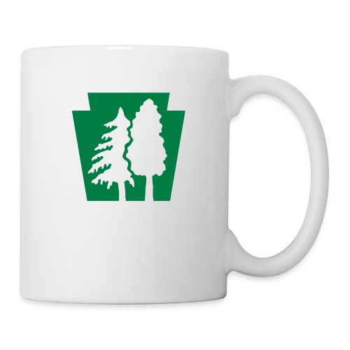 PA Keystone w/trees - Coffee/Tea Mug