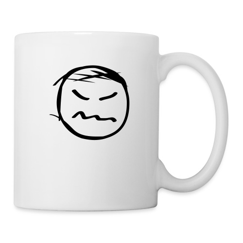 kicky head solo - Coffee/Tea Mug